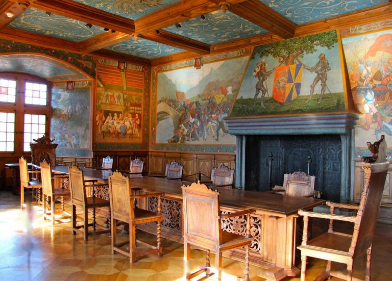 Count's Hall of Gruyere Castle