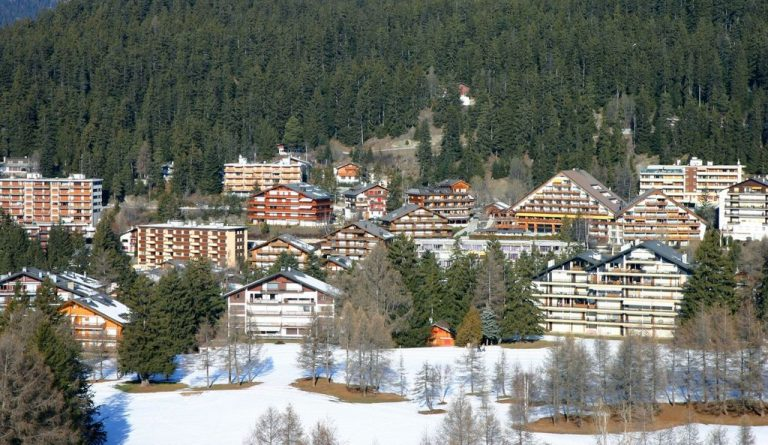 Crans Montana is a whole area of ​​three villages