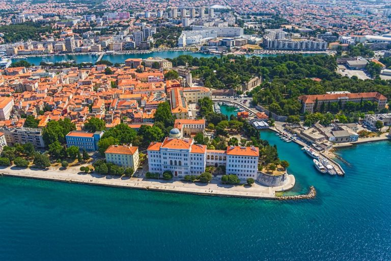 Croatian city of Zadar
