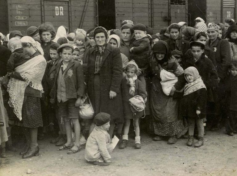 Deported Jews were selected