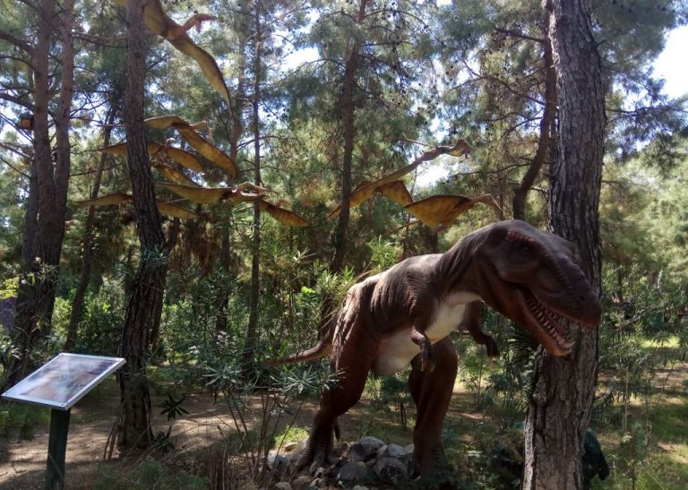 Dinosaurs in the Dinopark