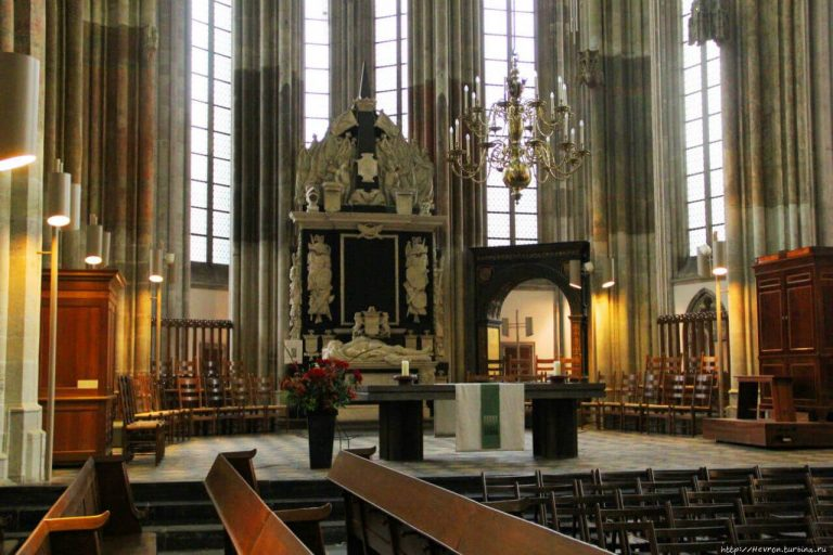 In the Dome Cathedral, Utrecht