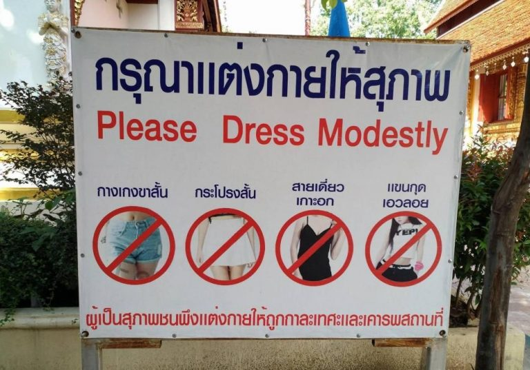 A dress code is set for women