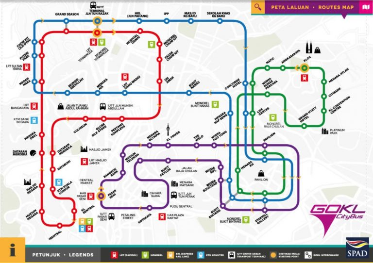 Kuala Lumpur Free Bus Scheme