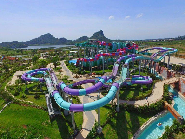 Duiling Aqua-Coasters slide