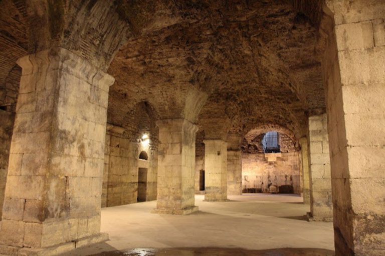 Dungeon of Diocletian's Palace