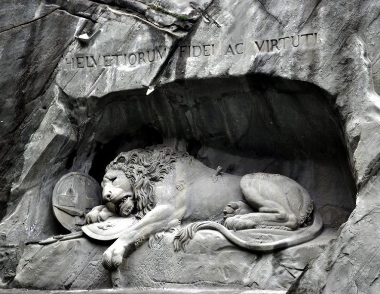 "Monument ""The Dying Lion"""
