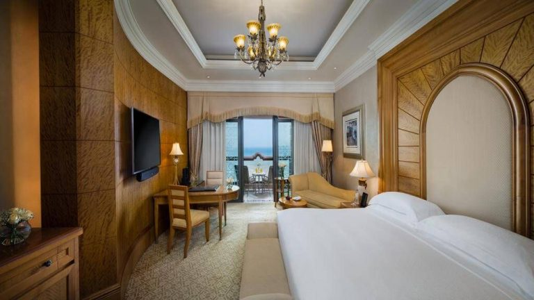 Room at Emirates Palace Hotel