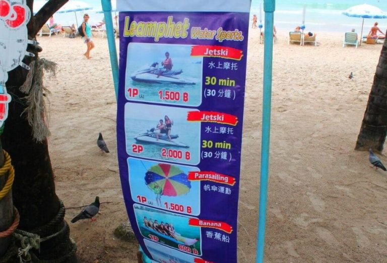 Things to do on Patong Beach
