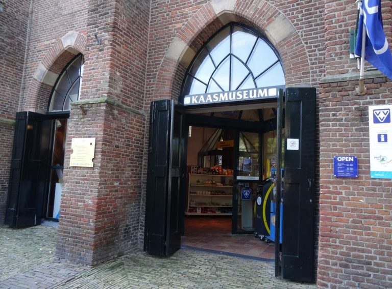 Entrance to the Cheese Museum, Alkmaar