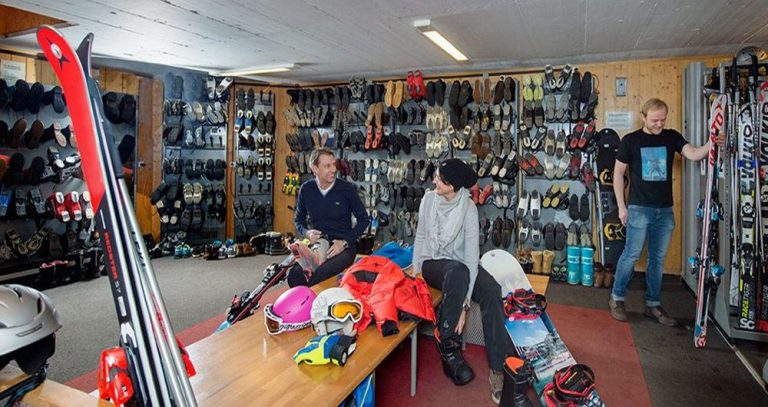 Equipment Hire in Zermatt