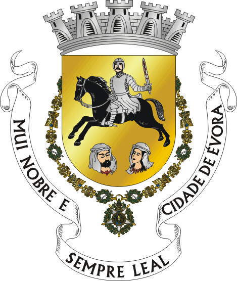 Coat of arms of the city of Evora