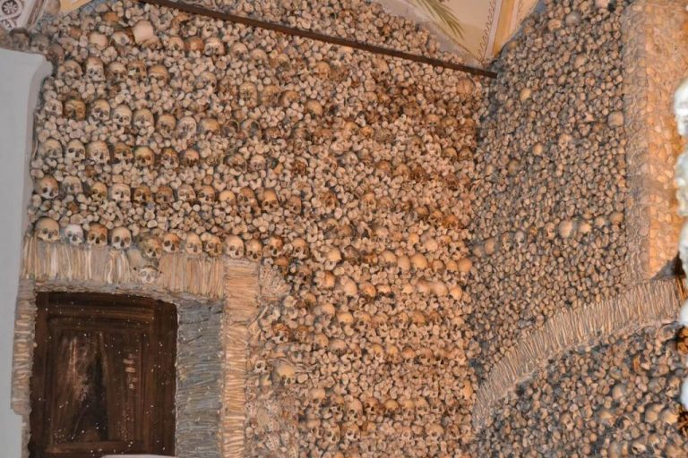Walls of the Chapel of Bones Osush