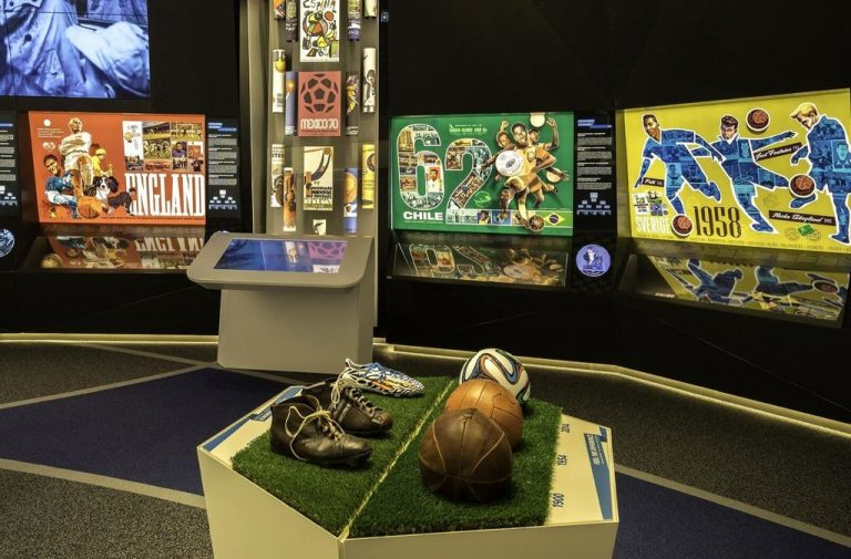 At the FIFA Museum (FIFA World Football Museum)