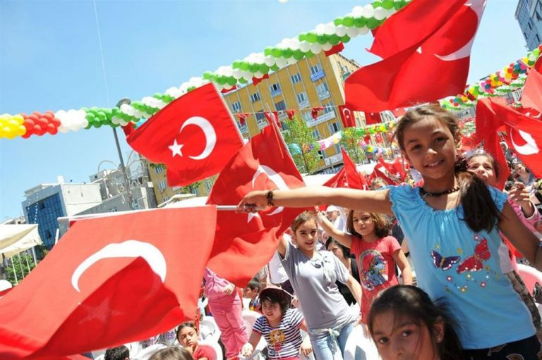 Holiday of National Sovereignty and Children in Turkey