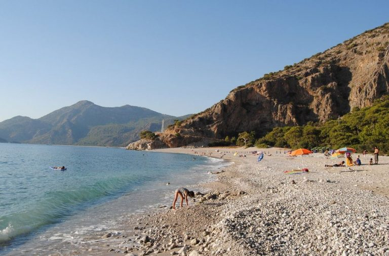 Beach in Fethiye, Turkey