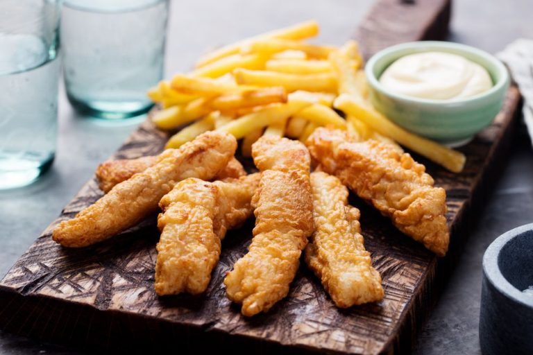Fish & Chips - fish and fries