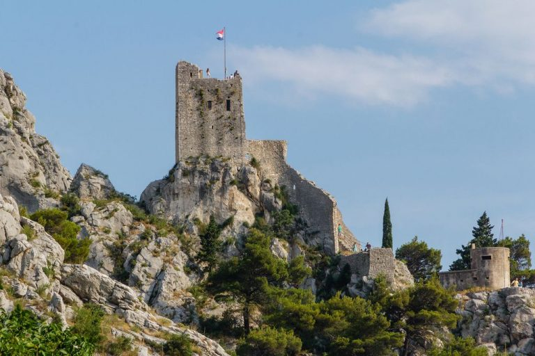 Mirabella Fortress in Omis