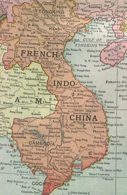 French Indochina in 1913