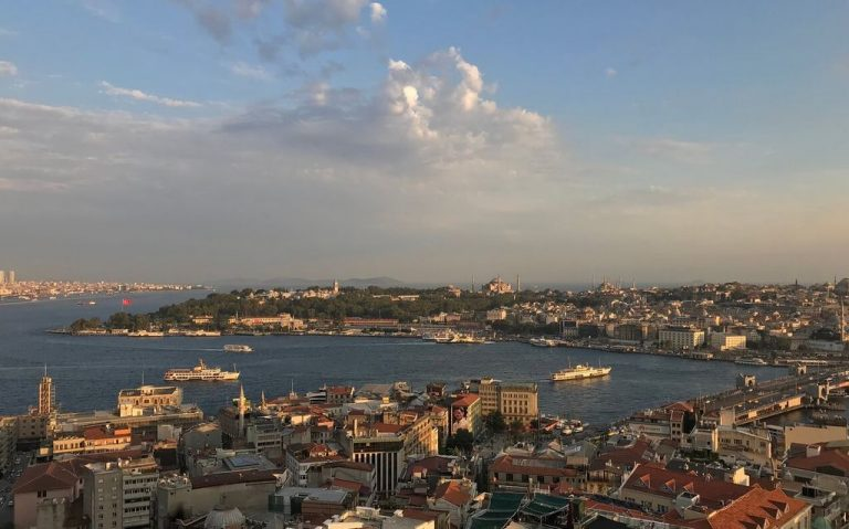 Panaroma from the Galata Tower