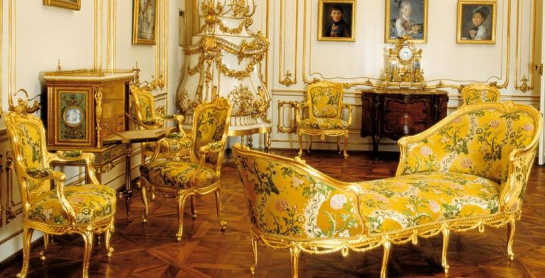 In the Yellow Salon