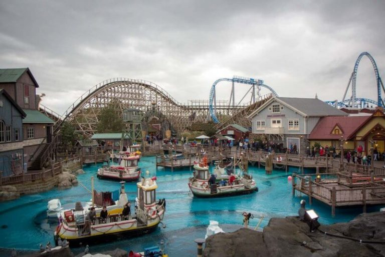Water attraction in Europa-Park
