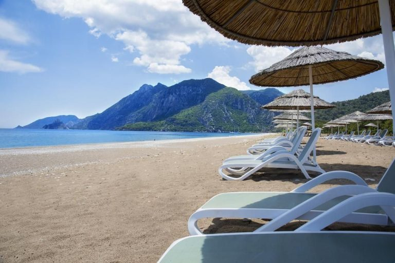 You can go to the beaches of Cirali any month