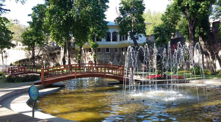 Fountain in Gulhane Park