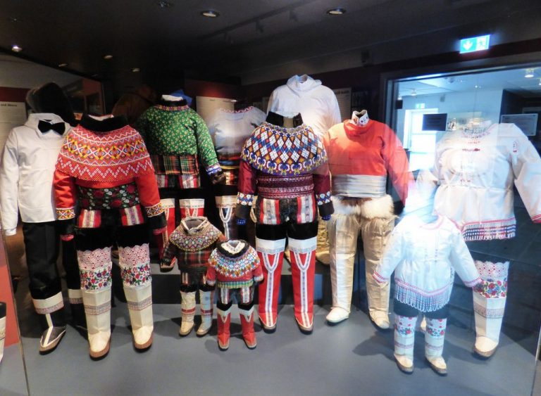 Greenland national costumes
