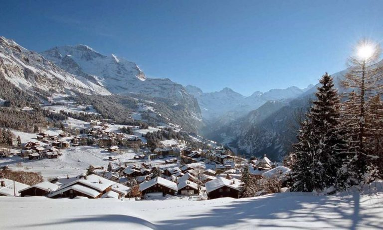 Grindelwald - one of the best ski resorts