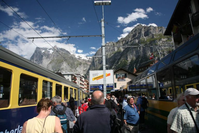 Train station Grindelwald