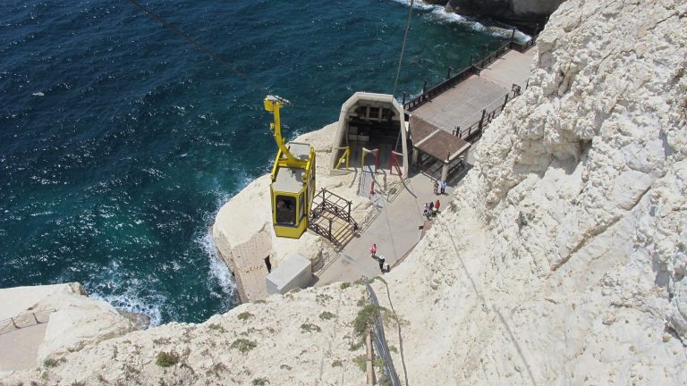 Cableway to the grotto