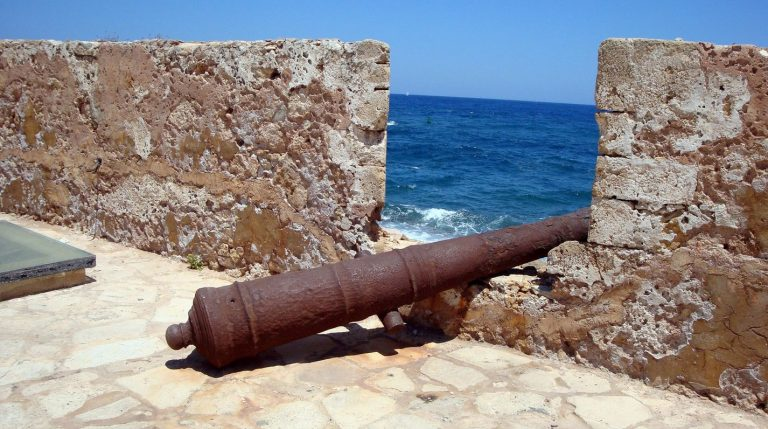 Cannons at the fortress