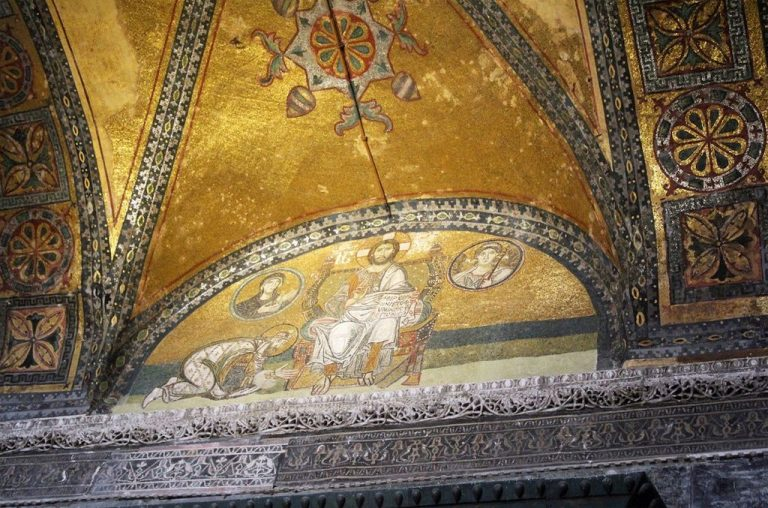 Mosaics and frescoes