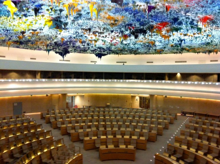 Tour of the Palace of Nations