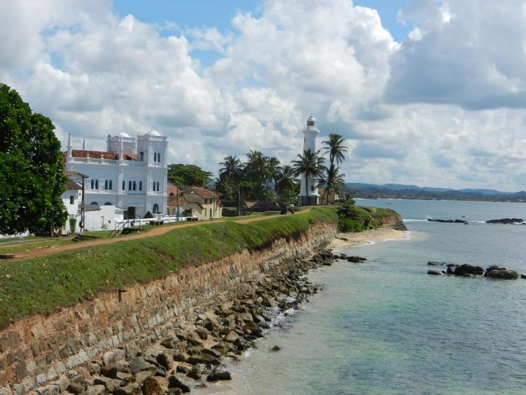 The historic city of Galle