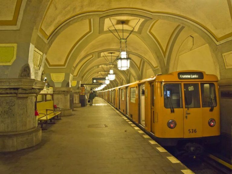 Berlin old subway