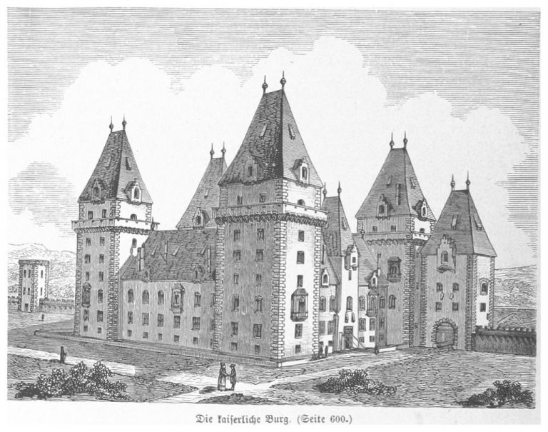 Castle in the 16th century