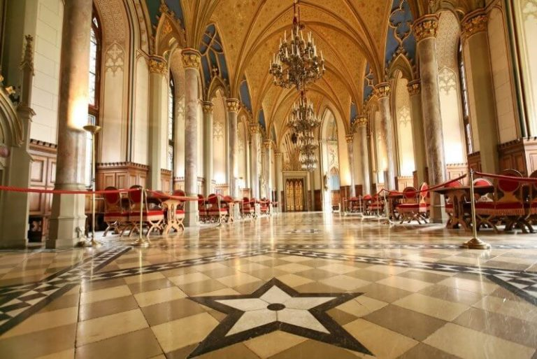 Hall in the Hohenzollern Castle