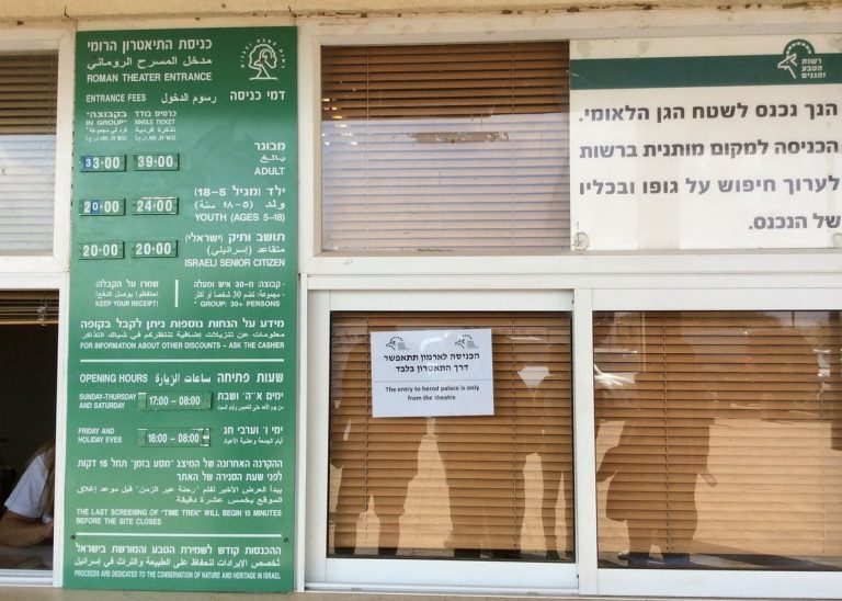 Caesarea National Park Opening Hours