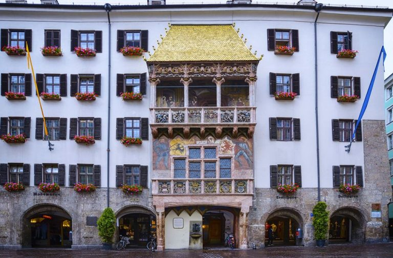 House with a golden roof in Innsbruck
