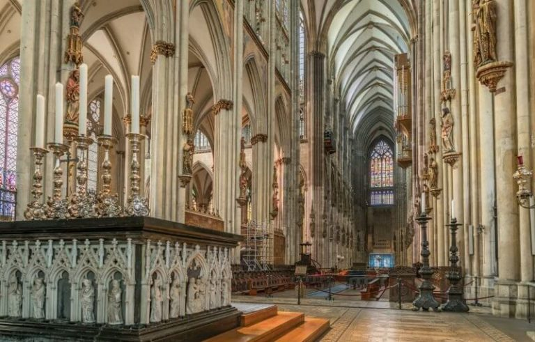 Hall in Cologne Cathedral