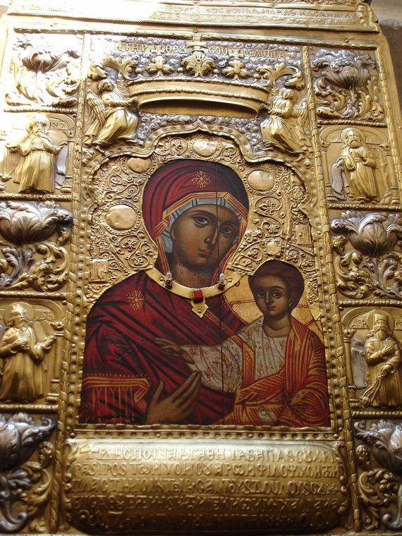 Icon of the Virgin Panagia Sumela