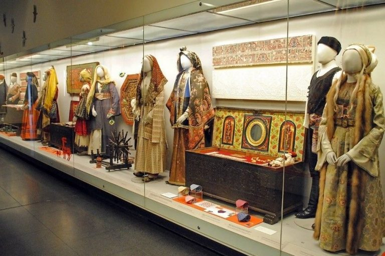 Photo: Exposition of the Benaki Museum in Athens