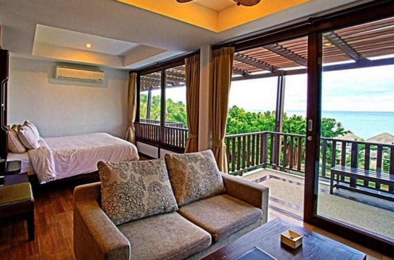 Air-conditioned hotel room