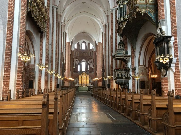 In Roskilde Cathedral