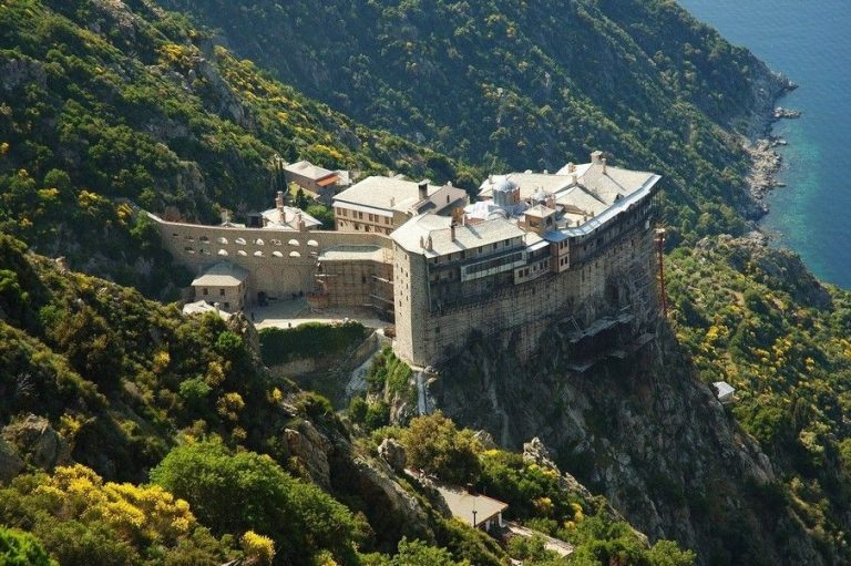Monasteries of Athos in Greece