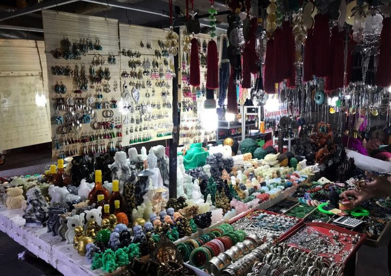Souvenirs in the market