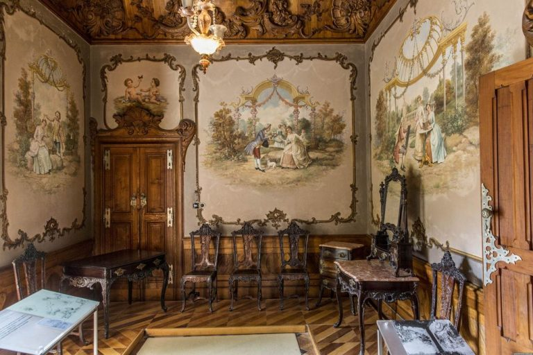 Photo: one of the rooms of the palace of Quinta da Regaleira