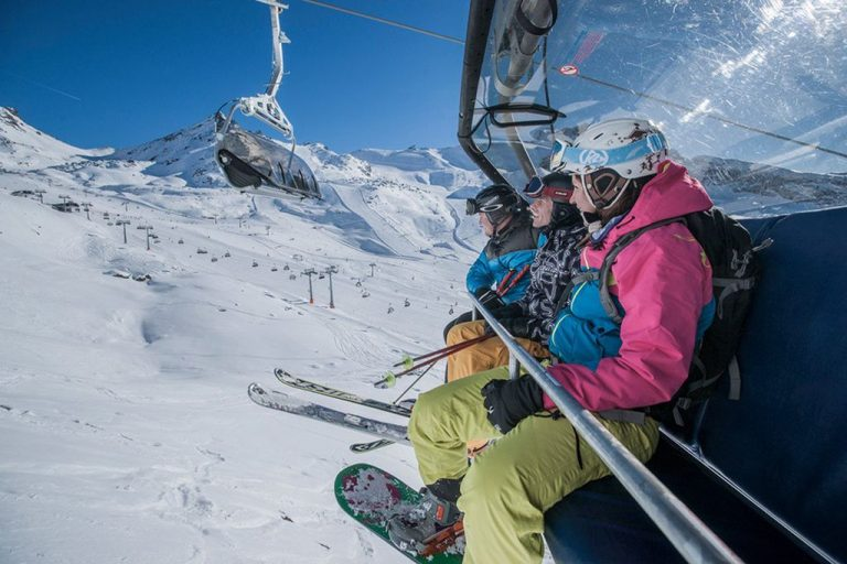 Lifts in Ischgl